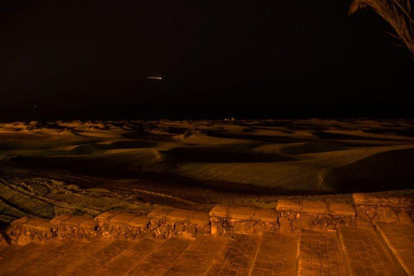 Nachts in den Dünen