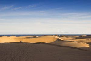 Dünen und Meer bei Maspalomas