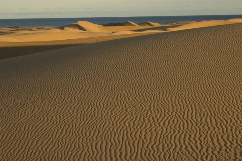 Sandstrukturen in den Dünen von Maspalomas