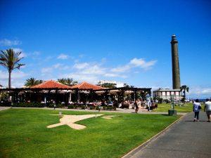Maspalomas El Oasis und der Leuchtturm