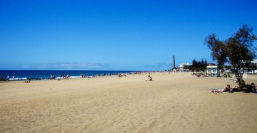 Strand Richtung Playa Ingles