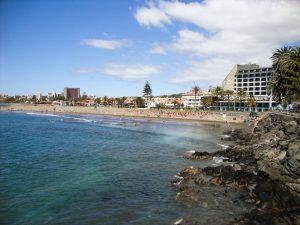 Strand von San Agustin