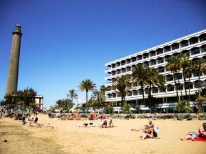 Strand von El Oasis, Maspalomas