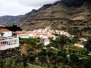 Fataga - Ort auf dem Hügel
