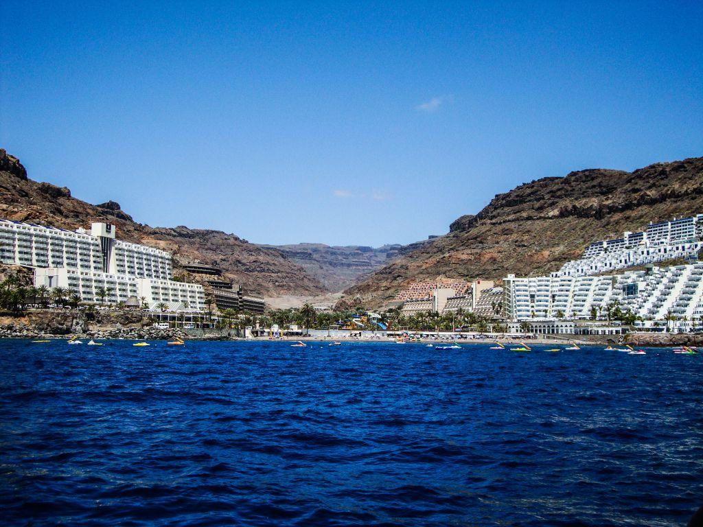 Gran canaria puerto rico sommer sonne sand und meer - Taxi puerto rico gran canaria ...