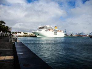 Las Palmas Hafen Puerto de la Luz