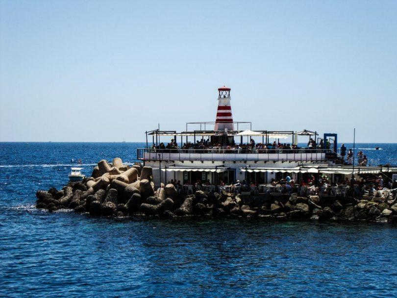 Puerto de Mogan Leuchtturm