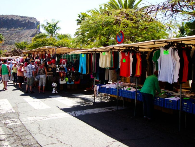 Wochenmarkt in Puerto de Mogan