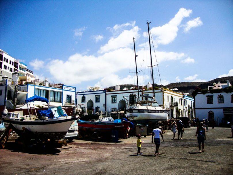 Puerto de Mogan Reparaturhafen