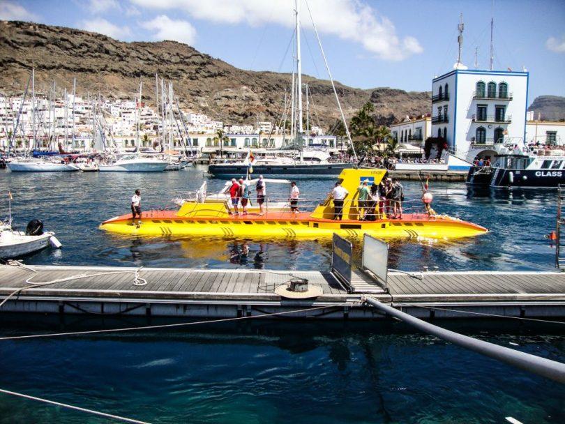 Yellow Submarine, Puerto de Mogan