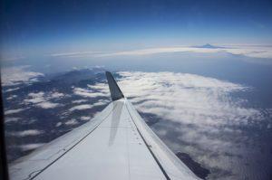 Kanarische Inseln aus dem Flugzeug