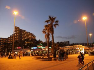 Playa del Ingles abends