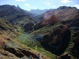 Weit weg: Der Roque Nublo