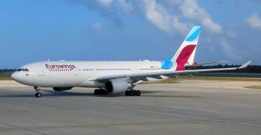 Eurowings Flugzeug